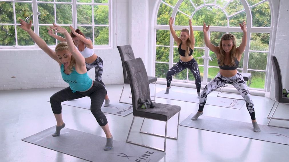 30 Minute Define Barre Burn With Weights | Online Workouts by DEFINE.LONDON