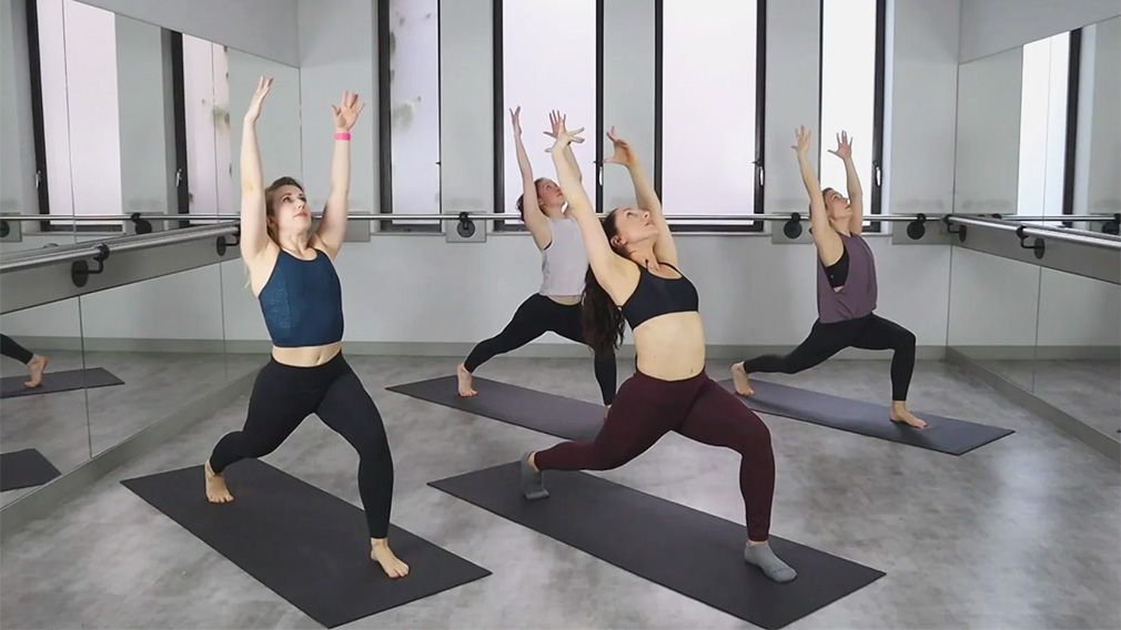 """Slow Yoga Flow with Becki """"Acceptance"""" by DEFINE.LONDON"""